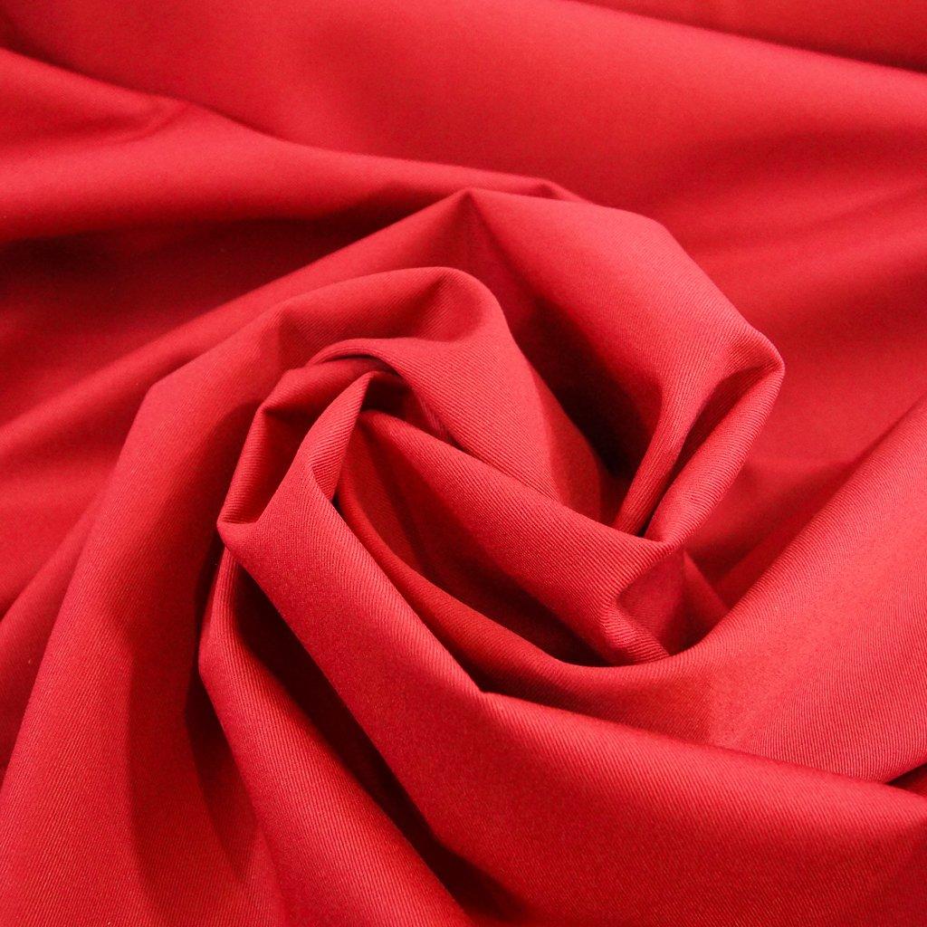 Chino Twill - Berry Red