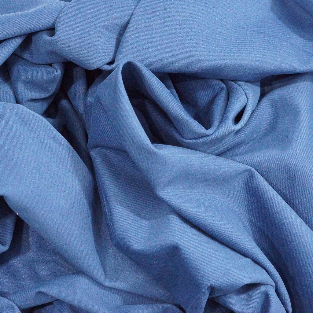 Cotton Twill - Blue Brushed Twill