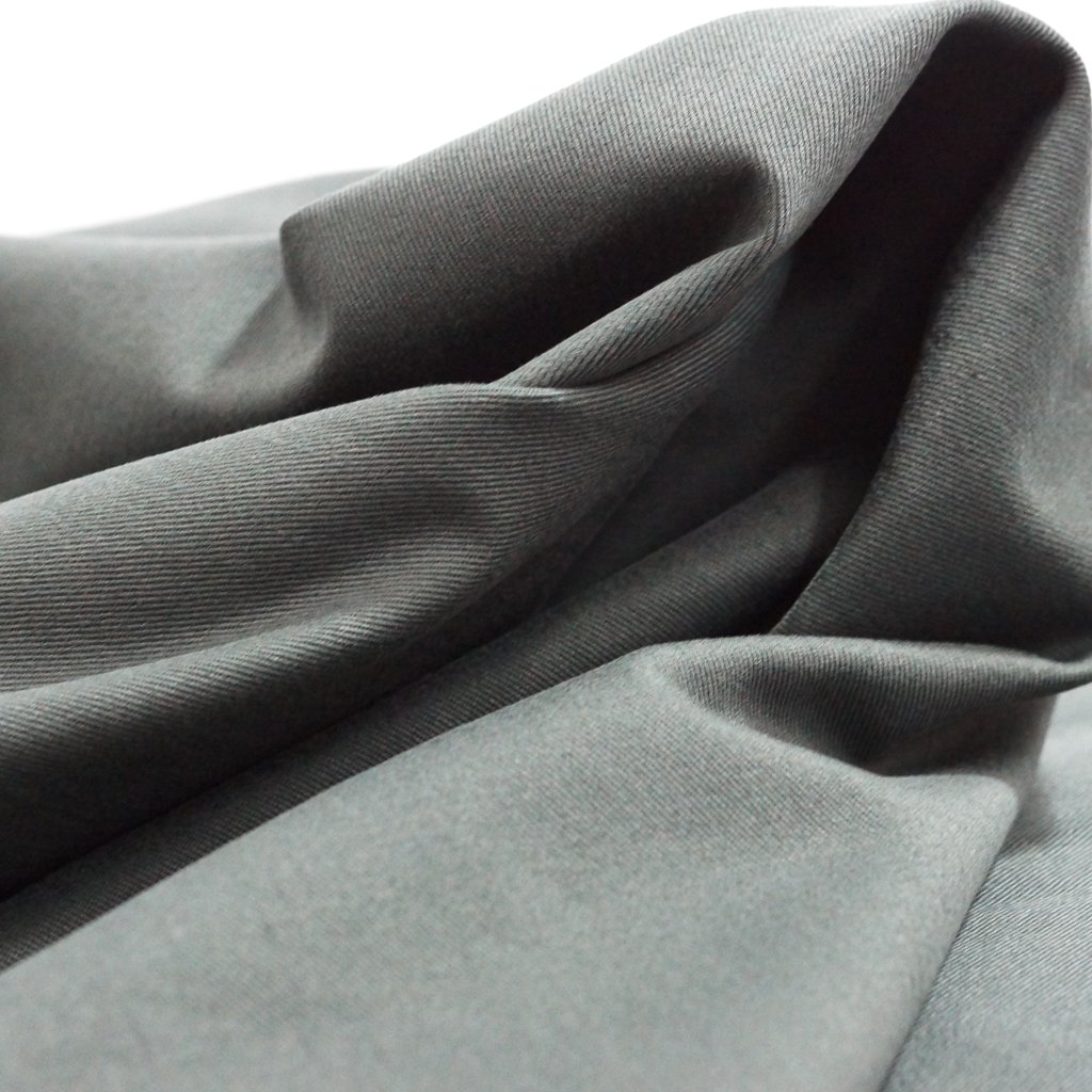 Cotton Twill - Charcoal Gray