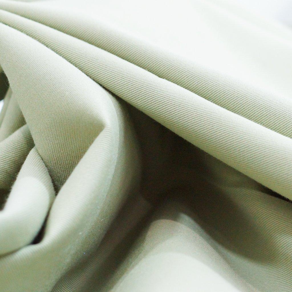 Cotton Twill - Sage Brushed Twill