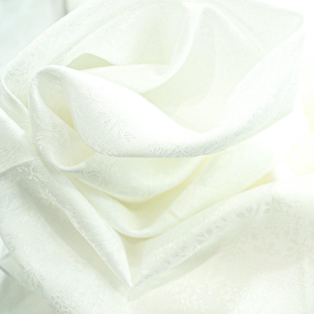 Cotton - White Brocade Shirting