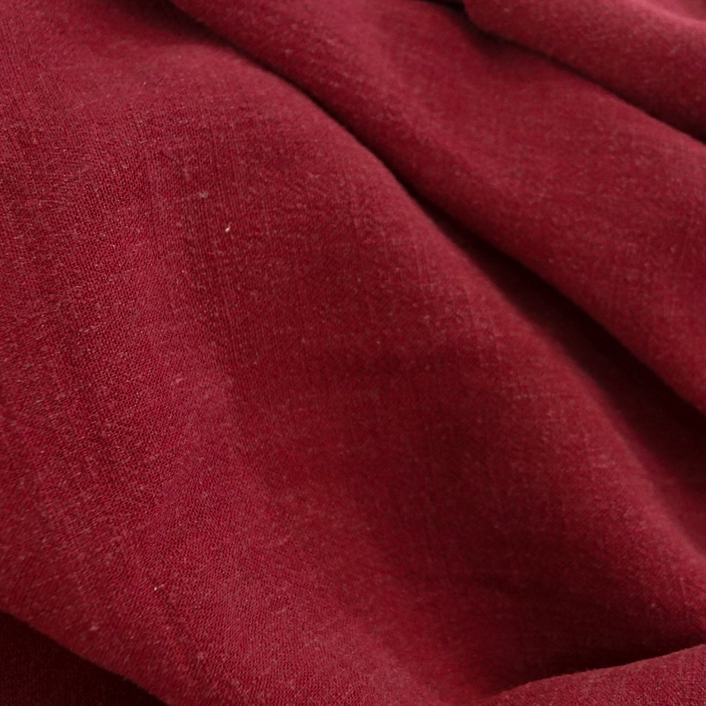 Grace Viscose & Linen Blend - Wine