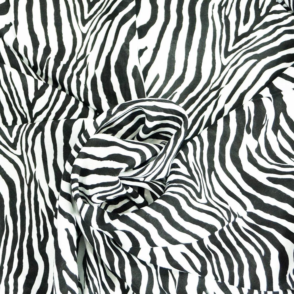 Rayon - Zebra Challis