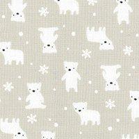 Minny Miu Gray Polar Bears Lecien 40672-90