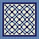 Heirloom Elegance - Blue Dreams A 3 Yard Quilt