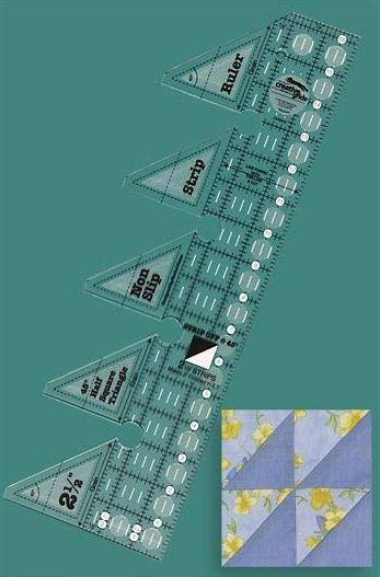 Creative Grids 45-degree Triangle Strip Ruler