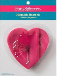 Fons & Porter Magnetic Heart Pin