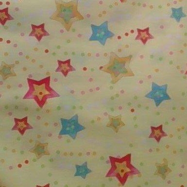 Cuddly Baby Star Print on Yellow