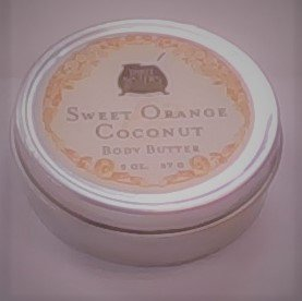Sweet Orange Coconut Body Butter 2.5oz