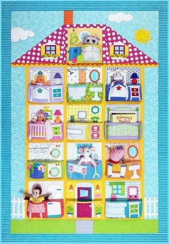 Dollhouse Pattern by Amy Bradley