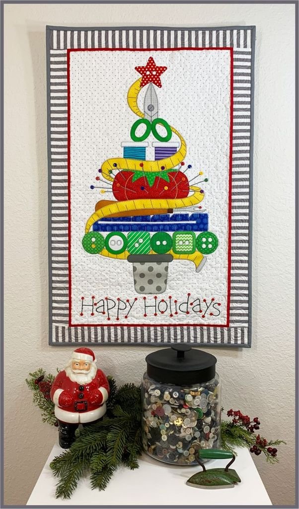 Holiday Sewing Tree PATTERN
