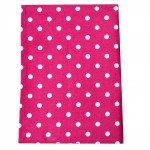Tea Towel Polka Dot Pink
