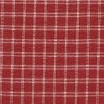 Tea Towel Window Pane Red & Cream