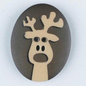 Button - Moose