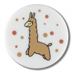 Button - Llama 15 mm