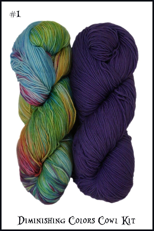 Diminishing Colors Cowl Kit