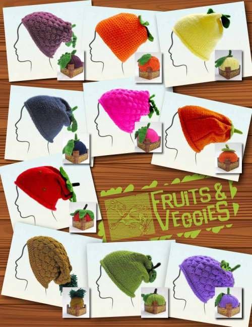 Fruit & Veggies Hat Kit