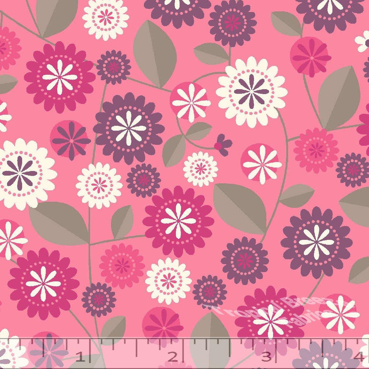 Pink Retro Floral
