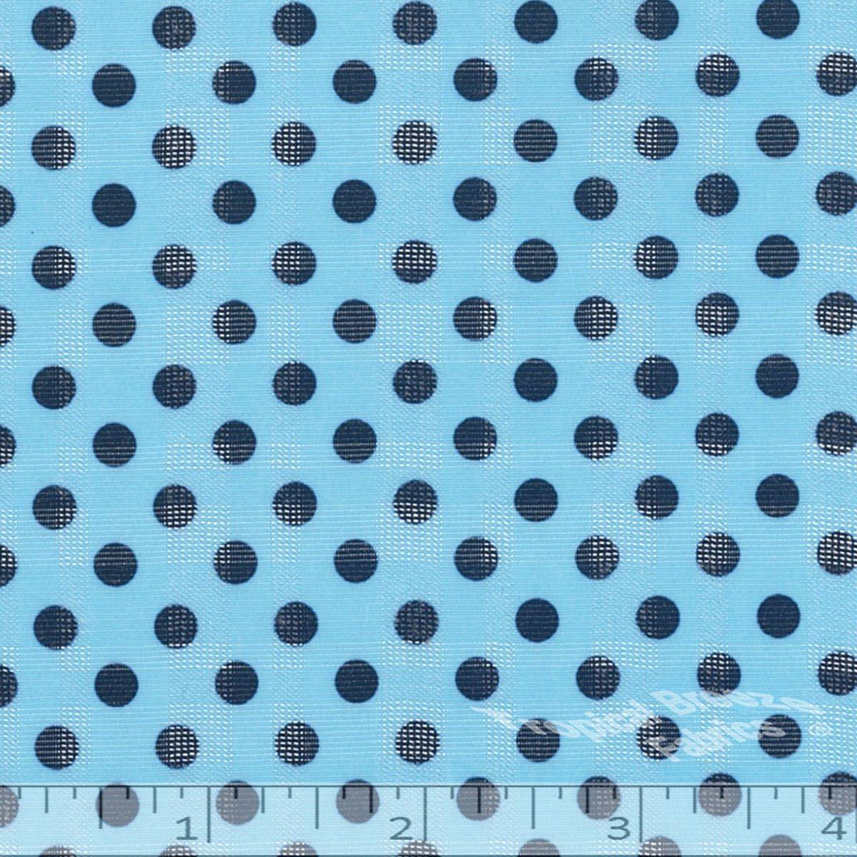 Poly/Rayon Print Light Blue 71% poly / 29% rayon 58 wide