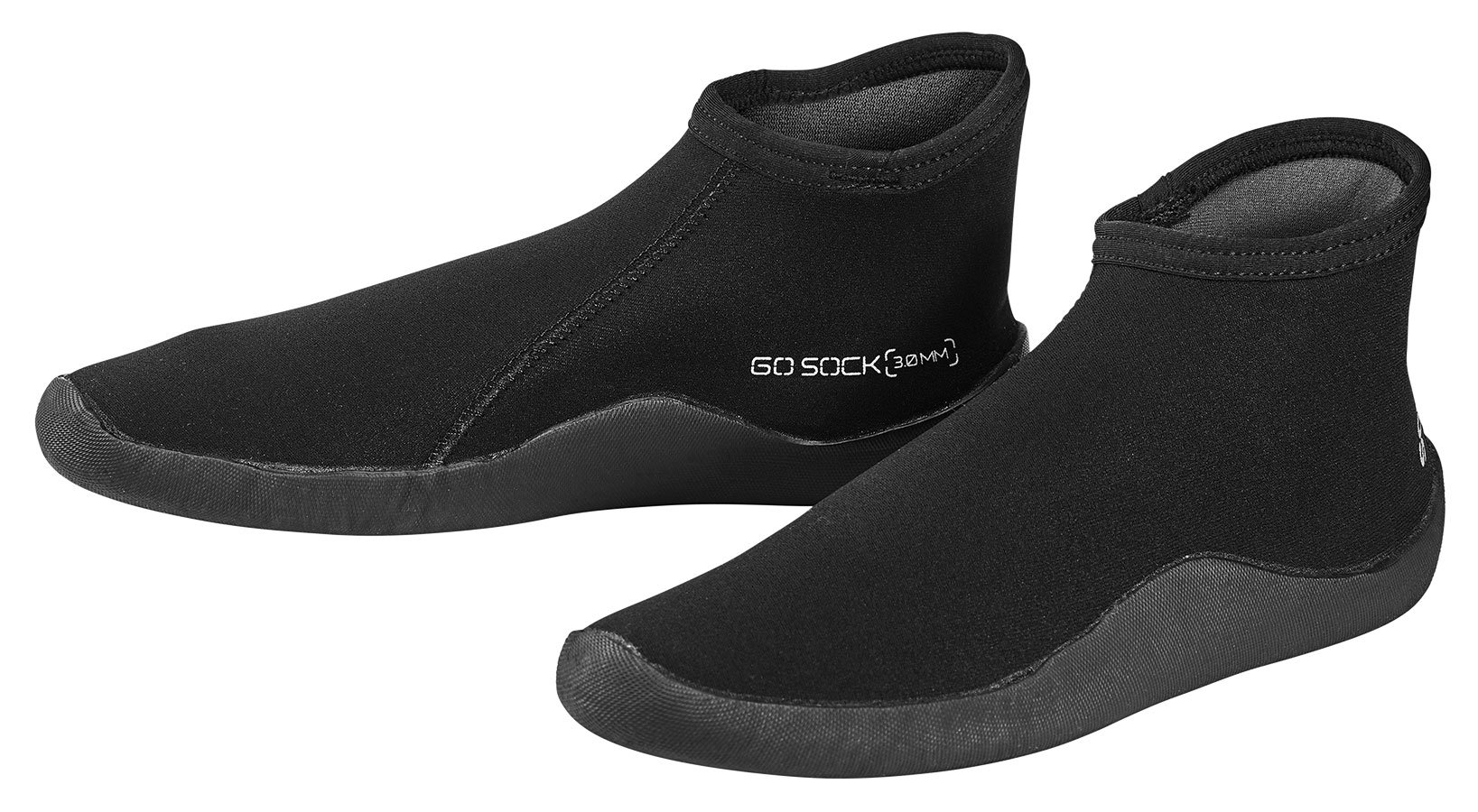 Scubapro Go Sock 3mm Thin Sole - Black