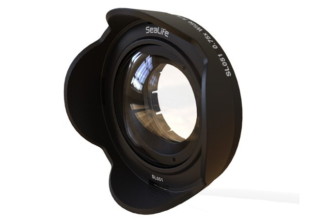 0.75x Wide Angle Conversion Lens for DC-Series Cameras