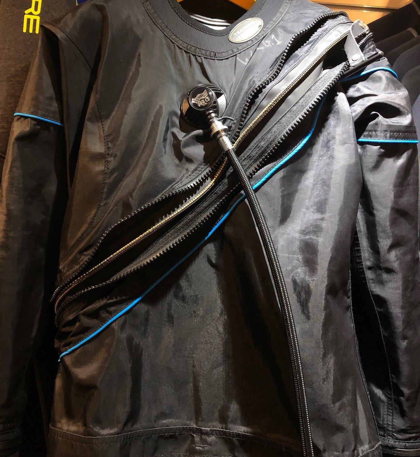 USED DUI TLS350QZ Women's LG Drysuit