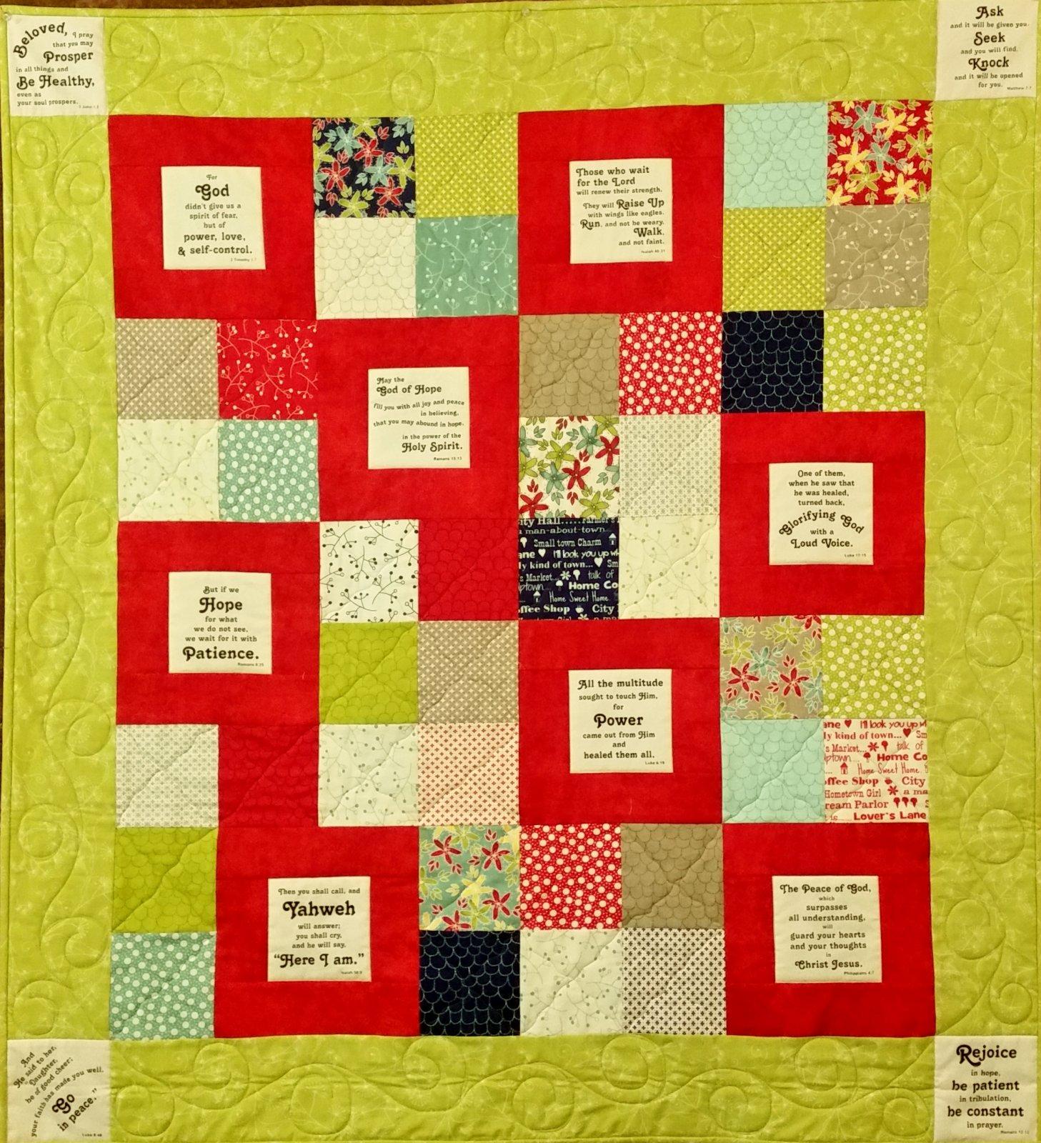Blocks of Blessings pattern