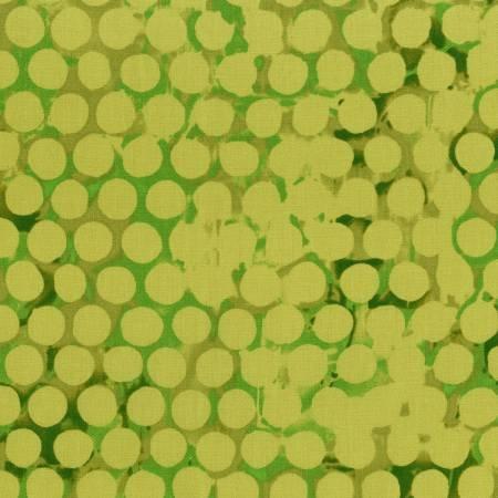 Greenish Yellow Polka Dots P