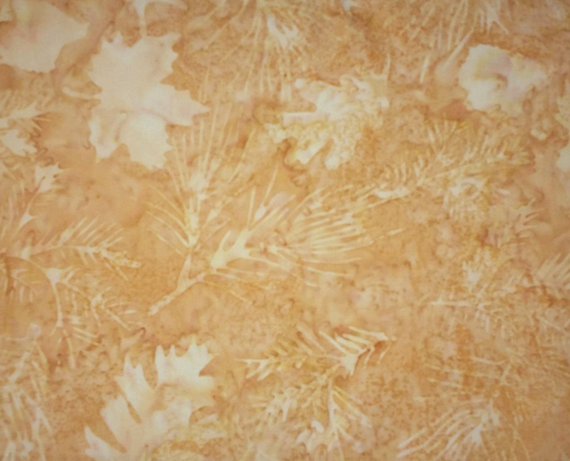 Batik leaf springs gold