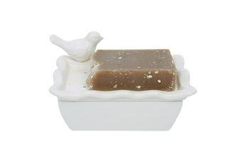 Ceramic bird soapdish 5.25L