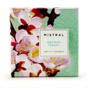 Boxed flower soaps Apricot Fleuri 7oz