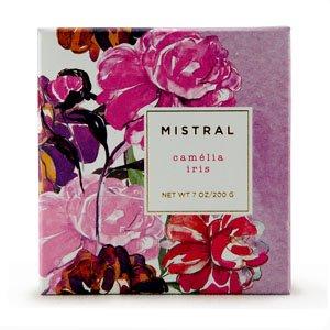 Boxed flower soaps Camelia Iris 7oz