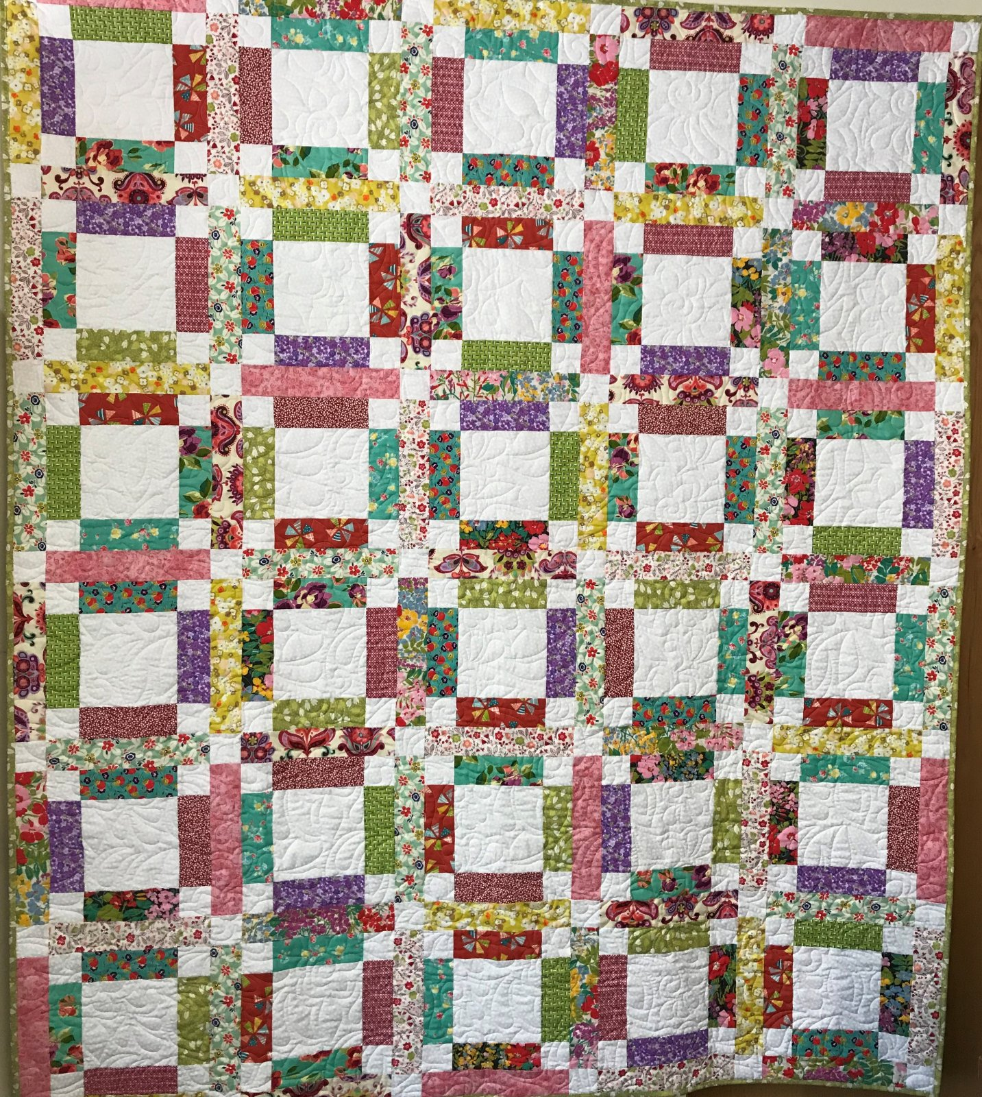 Grandma Mary's Five Patch Quilt Kit
