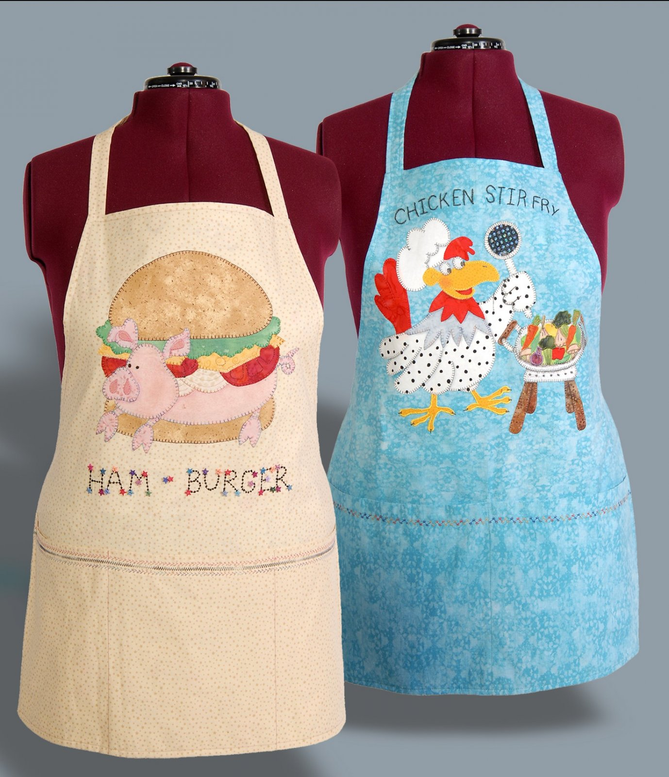 Kitchen Kritters Aprons