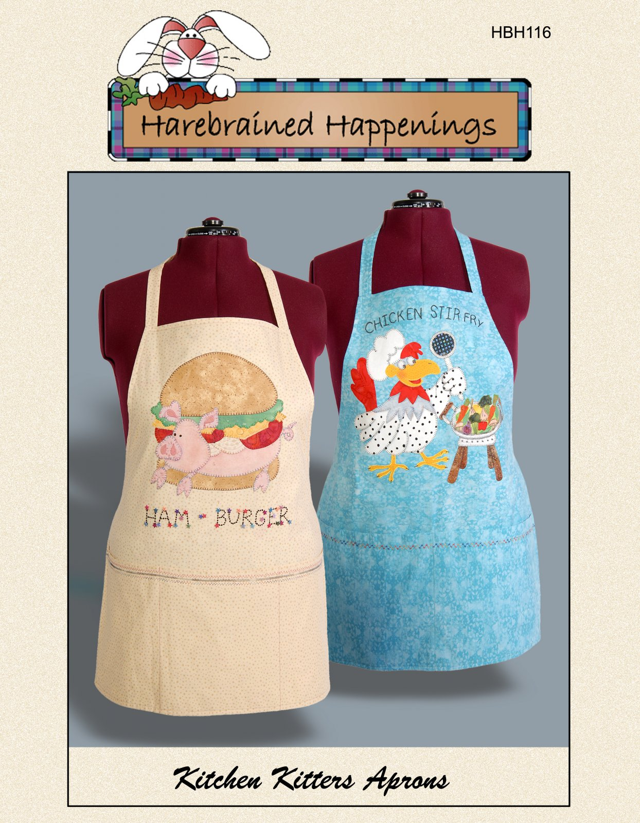 HBH116 Kitchen Kritters Aprons
