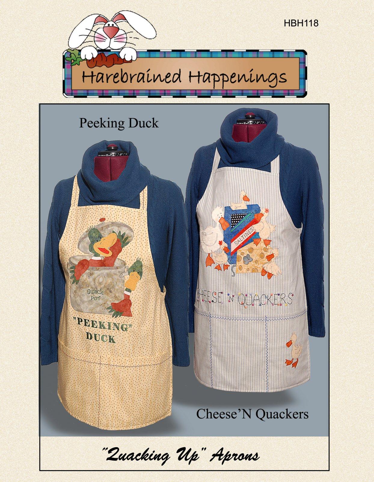 HBH118 Quacking Up Aprons