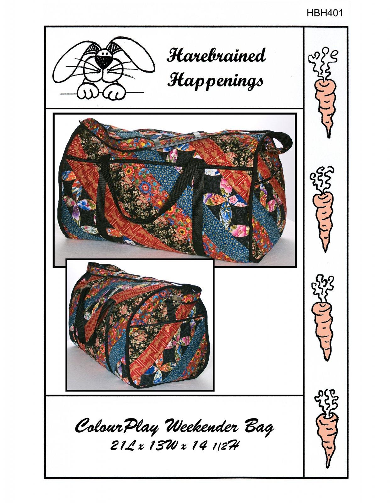 HBH401 ColorPlay Weekender Bag