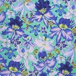 **Kaffe Fassett Orchids Blue