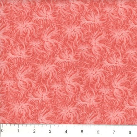 Coral Daydream Quilt Backing