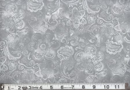 Gray 108 Quilt Backing