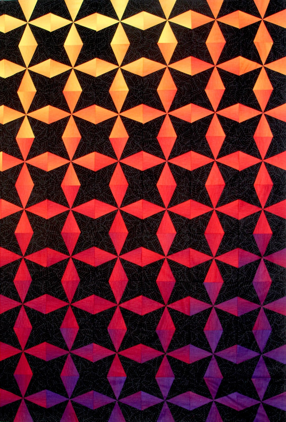 Ombre Octagon Pattern