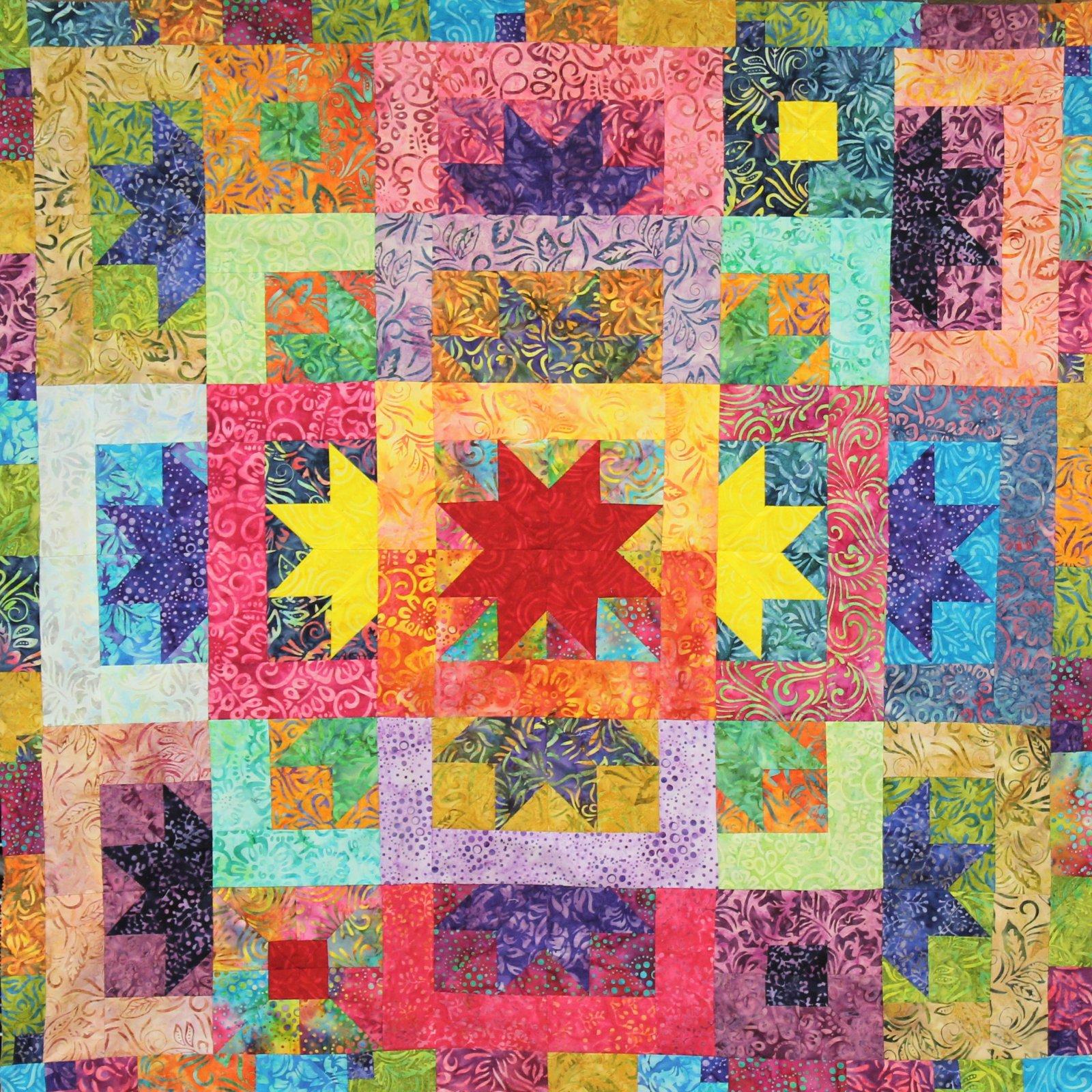 Quilter's Clinic Shop Hop Quilt Pattern 2020