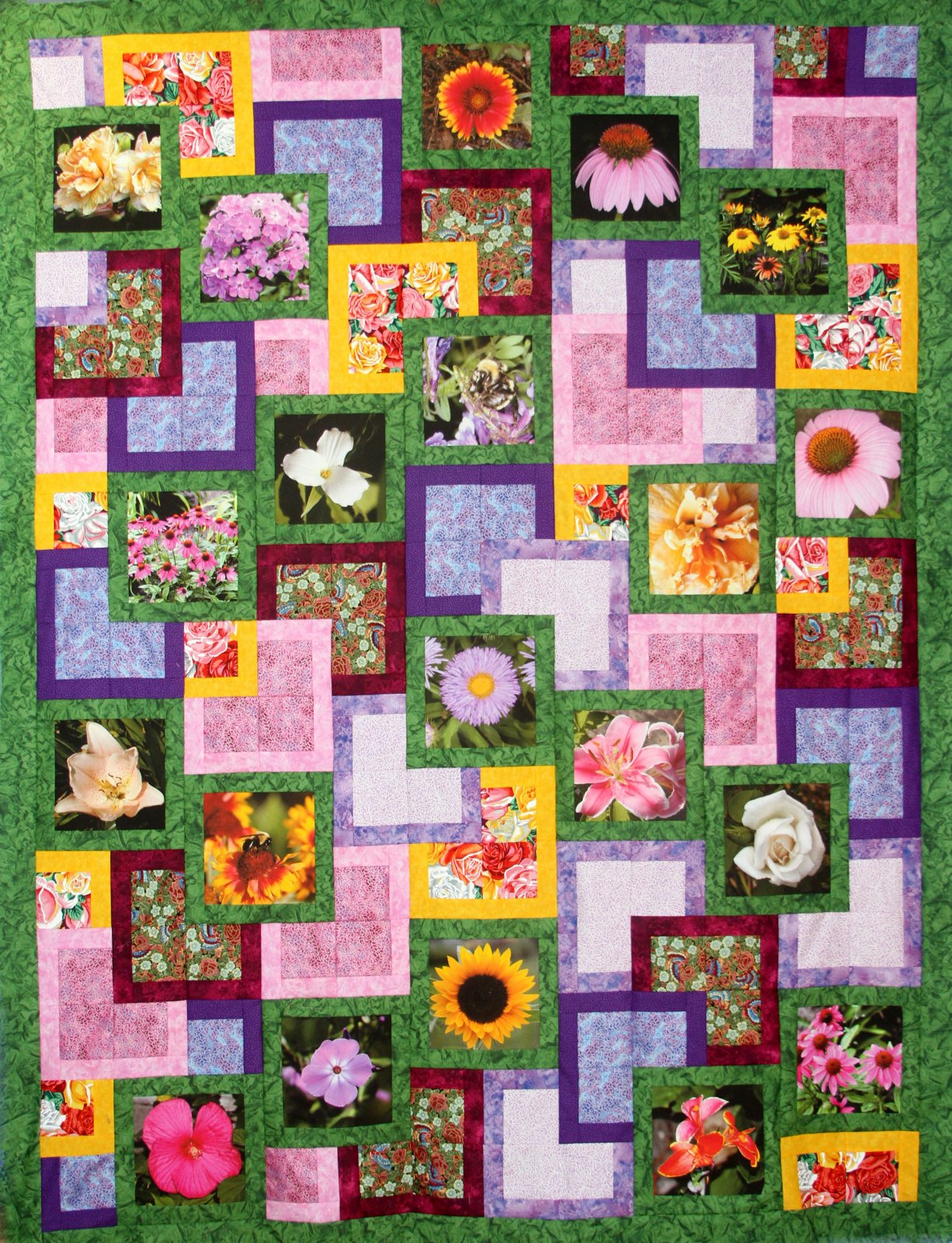 Zara's Garden Pattern