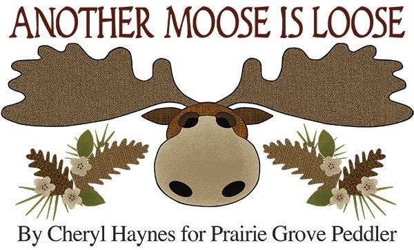 Moose Table Runner Pattern Free