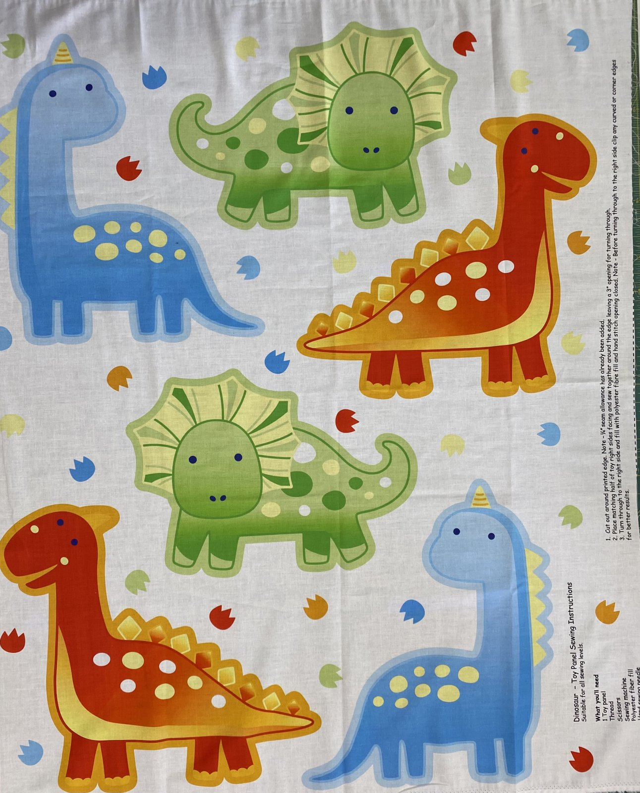 Dinosaur Toy Panel