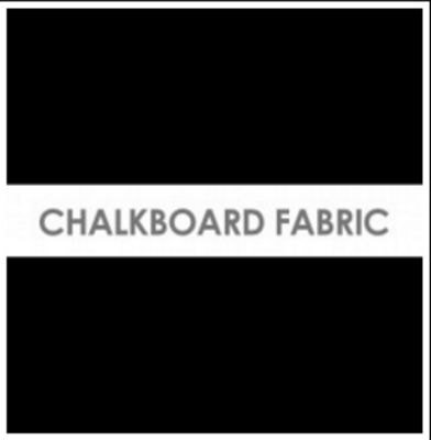 Chalkboard Fabric 1 yd cut