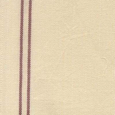 Tea Towel Vintage Stripe  - Red