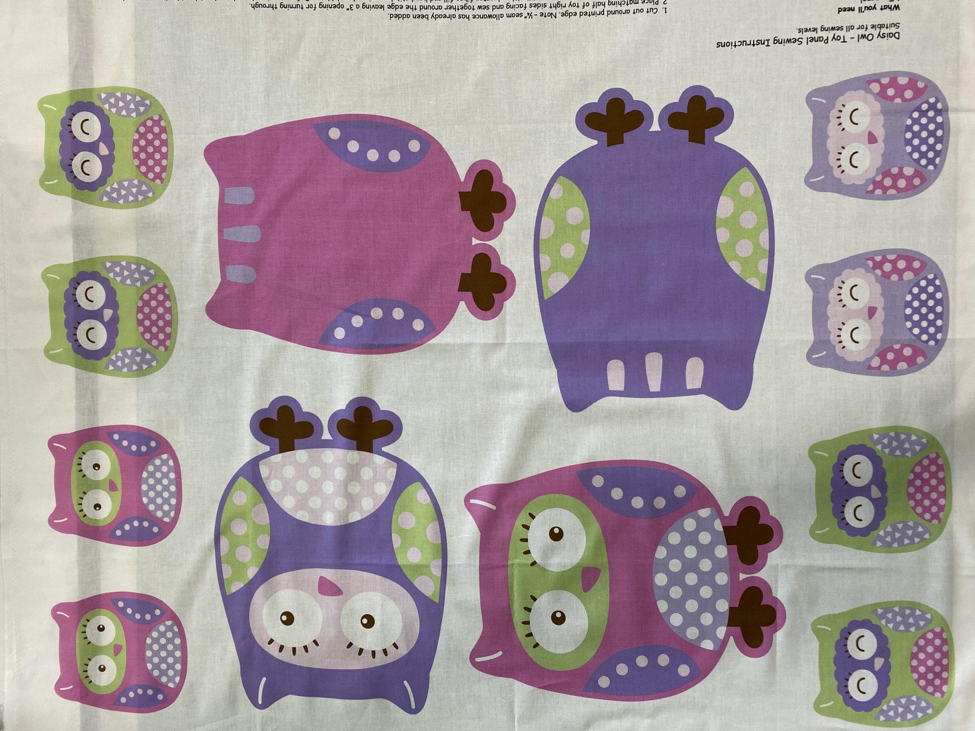 Owl Toy Panel