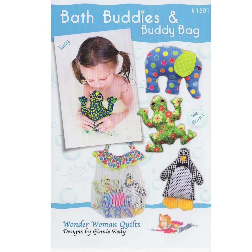 BATH BUDDIES & BUDDY BAG