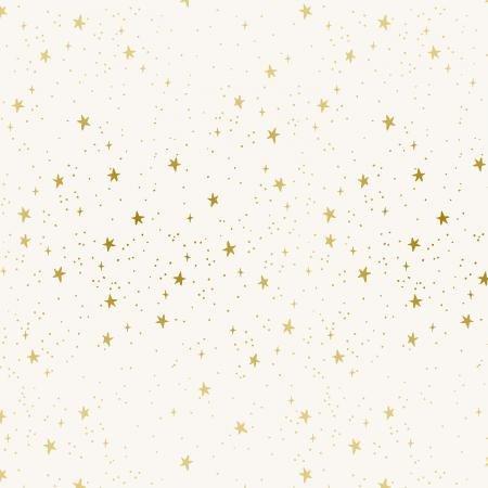PRIMAVERA STARS CREAM METALLIC